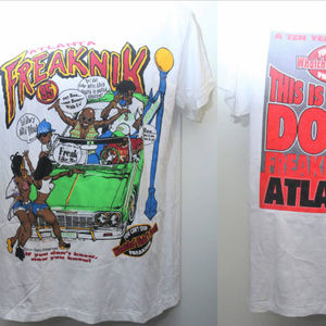 "Other - Rare ""ATLANTA FREAKNIK 95"" Single-Stitched Rap Tee"